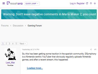マリオメーカー2 否定的 コメント BANに関連した画像-02