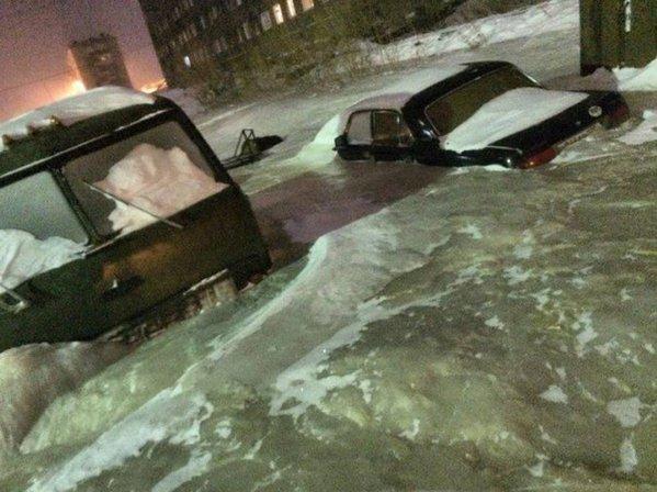 ロシア 凍結 破裂 水道管に関連した画像-03