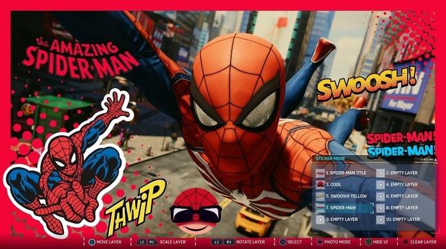 スパイダーマン フォトモード アメコミ風に関連した画像-01