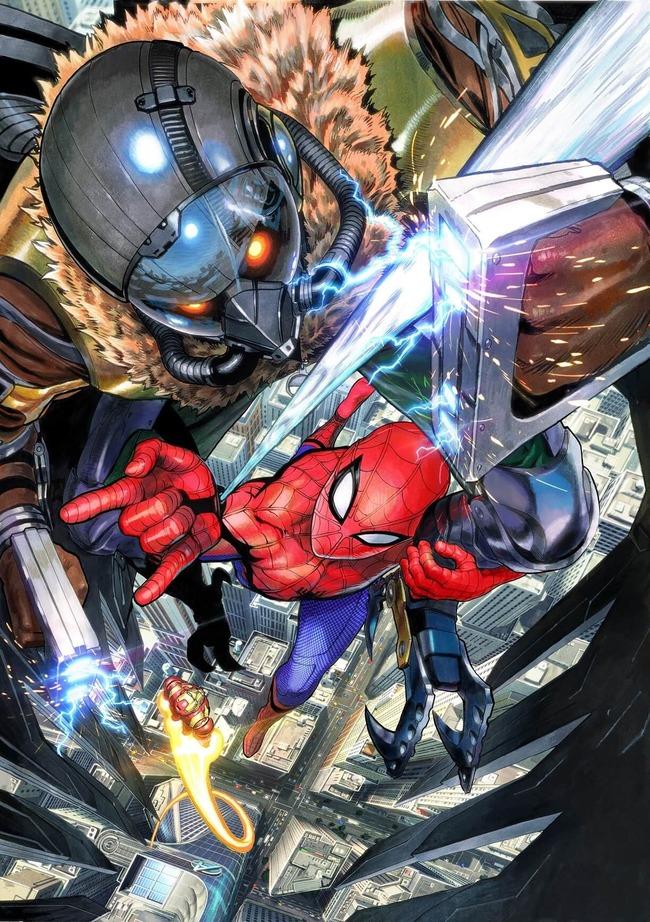 スパイダーマン 日本版ポスター 絶賛に関連した画像-04
