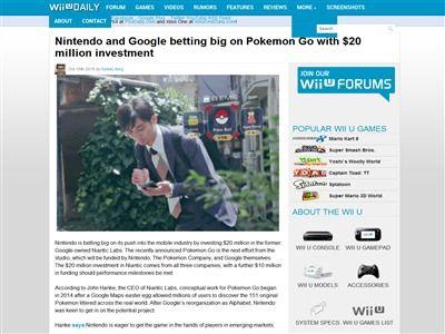 任天堂 グーグル Google モバゲー DeNA ポケモンGOに関連した画像-02