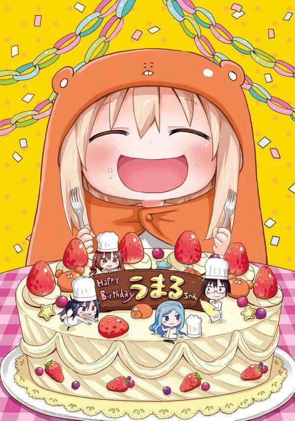 うまるちゃん 干物妹!うまるちゃん 生誕祭 誕生日 宴 田中あいみ サンカクヘッド 誕生日に関連した画像-05