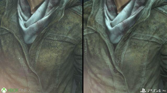 PS4Pro XboxOneX グラフィック 比較 ライズオブトゥームレイダー ハードに関連した画像-07
