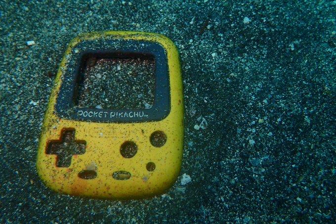 海 ダイバー ダイビング ポケットピカチュウに関連した画像-02