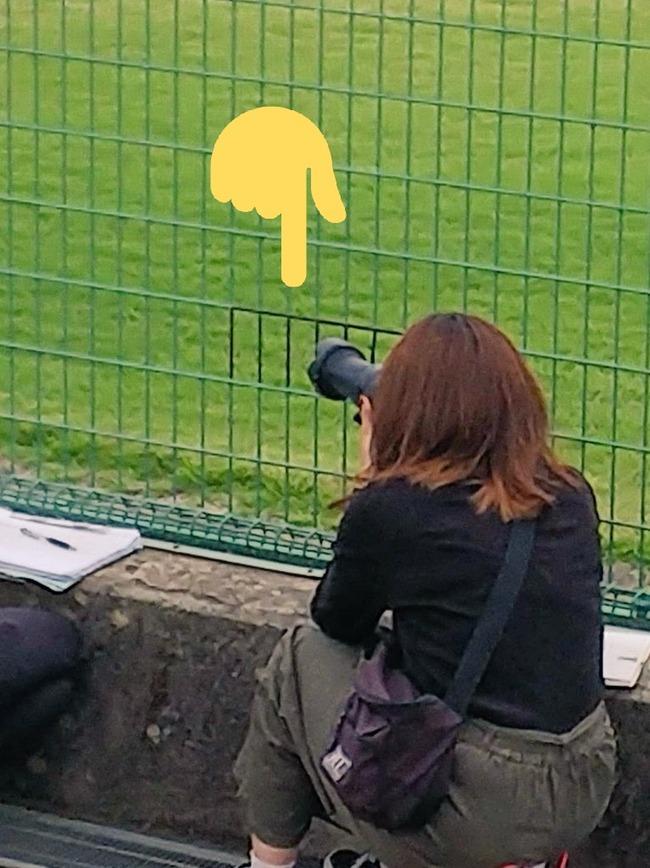 記者 フェンス 黒塗りに関連した画像-03