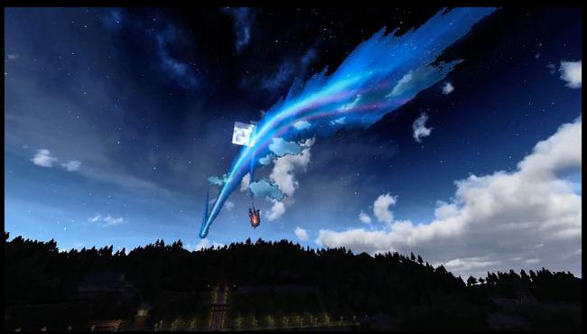 君の名は。 舞台 糸守町 マインクラフト 完全再現 猛者 劇場版 彗星に関連した画像-22