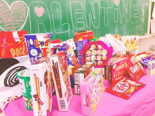 バレンタイン 教卓 生徒 女子 男子 先生 勘違いに関連した画像-07