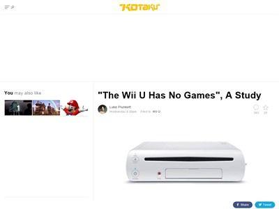 WiiU ソフト 少ない ハードに関連した画像-02