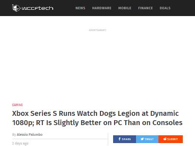 ウォッチドッグス レイトレーシング PS5 XboxSX PC 専門家に関連した画像-02