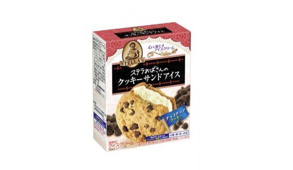 ステラおばさんのクッキー アイス チョコチップクッキーに関連した画像-01