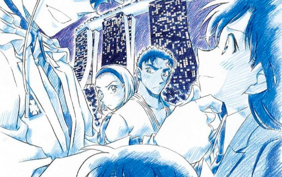 名探偵コナン 紺青の拳 劇場版 ポスターに関連した画像-01