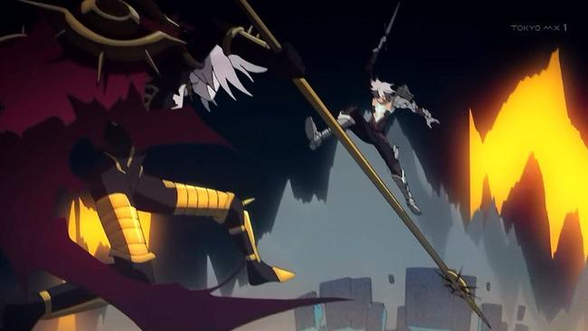 Fate Apocrypha アポクリファ フェイト 作画 22話 作画崩壊 神作画に関連した画像-04