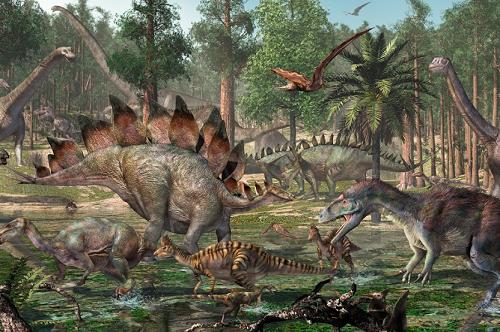 ジュラ紀 恐竜 ワニ 食物連鎖に関連した画像-01
