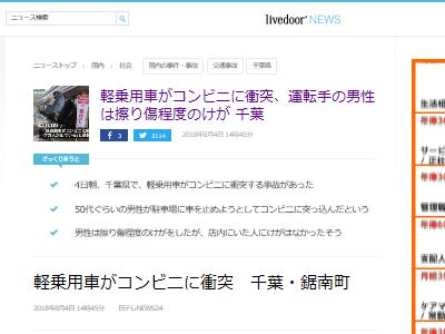 高齢者 事故 車 ダイナミック入店 コンビニ 衝突に関連した画像-02