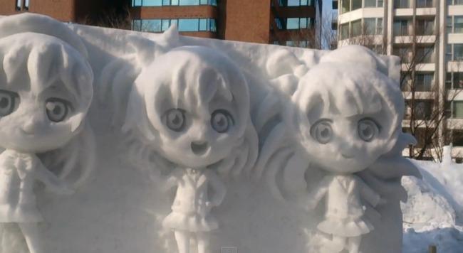 ラブライブ! 雪像 さっぽろ雪まつりに関連した画像-08