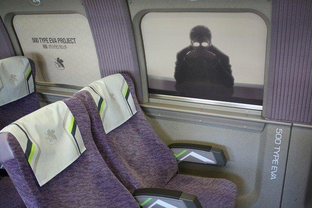 エヴァンゲリオン 新幹線 山陽新幹線 コラボ 車内放送 残酷な天使のテーゼ コックピット 初号機 JR 碇ゲンドウに関連した画像-09