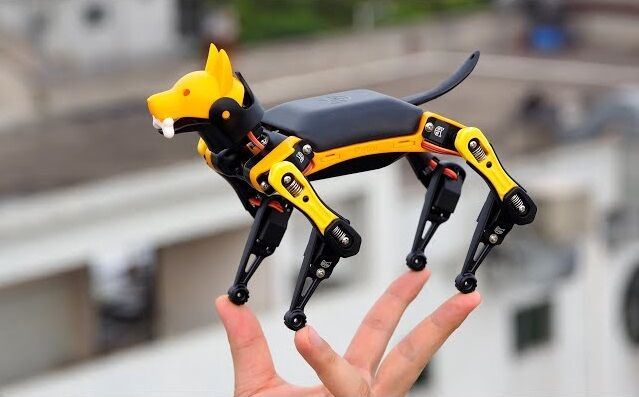キモい四足歩行ロボット Spot 手のひらサイズ Bittle 発売に関連した画像-01