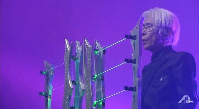 平沢進 会人 フジロックフェスティバル ペストマスク ギター かっこいい ステージに関連した画像-11