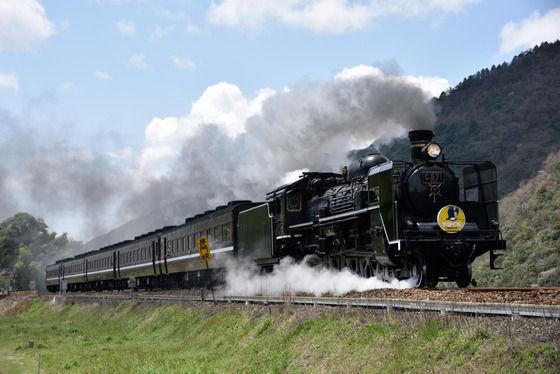 長門峡 電車 列車 SL 撮り鉄 鉄オタに関連した画像-01