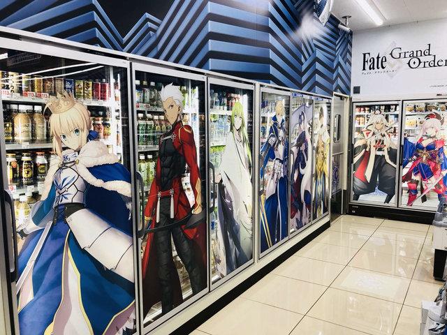 FGO Fate デコレーション ローソン コラボ 秋葉原 マシュに関連した画像-01