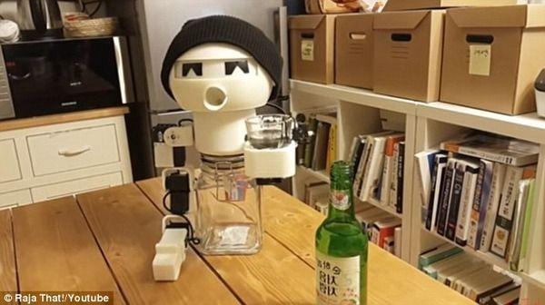 ロボット 酒 韓国 一人暮らし ソウル 博物館に関連した画像-03