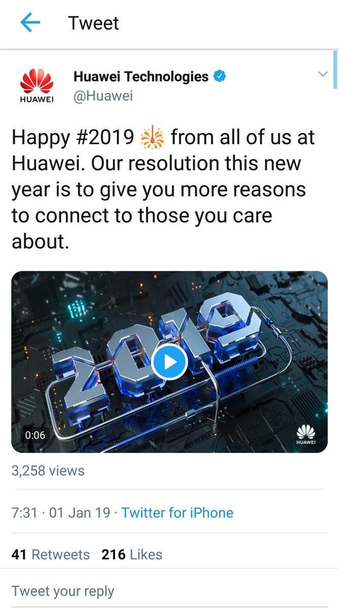 Huawei 公式ツイッター iPhone 中国に関連した画像-02