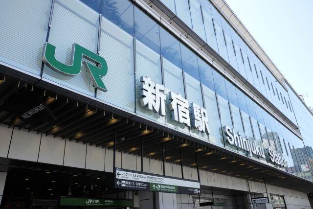 新宿駅 南口 歩道橋 首つり 自殺 撮影に関連した画像-01