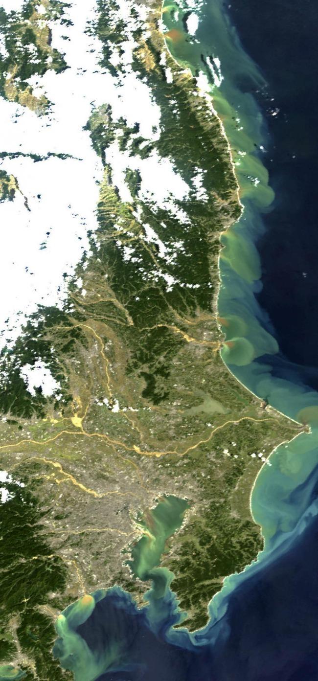 台風19号 土砂流出 海の色に関連した画像-03