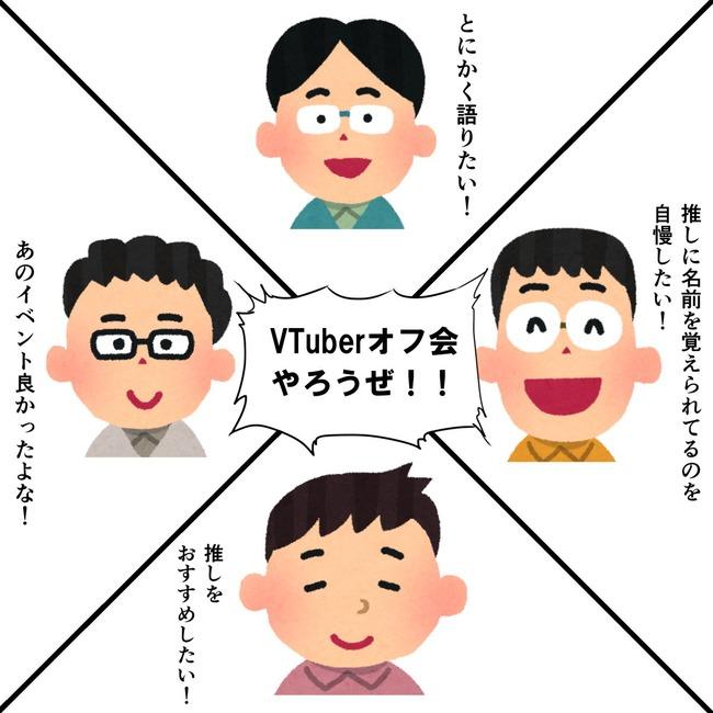 Youtube バーチャルYoutuber VTuber オフ会に関連した画像-02
