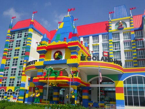 名古屋 レゴホテル レゴランド LEGO テーマパークに関連した画像-01