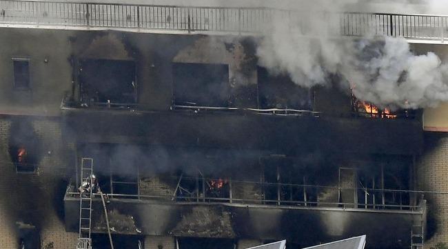 京アニ 火災 テロ NHKに関連した画像-01