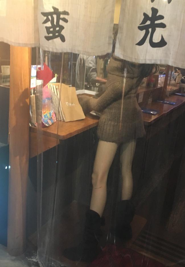 立ち飲み屋 集客 マネキンに関連した画像-02