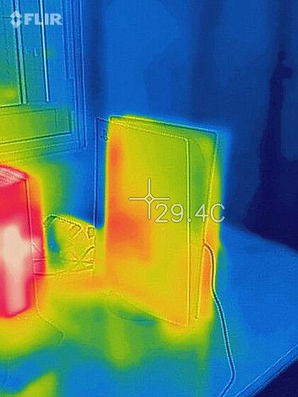 XboxSX 本体 熱 サーモグラフィ 真っ赤に関連した画像-03