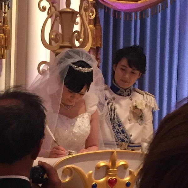 西又葵 結婚式 ディズニーランド シンデレラ城 イラストレーター 三宅淳一に関連した画像-20