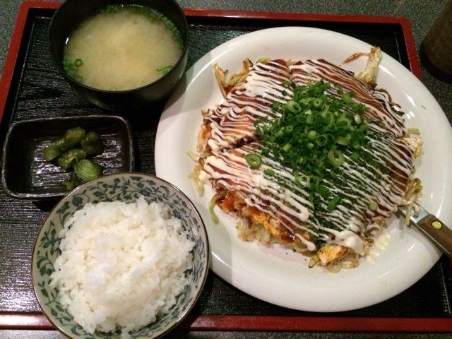 お好み焼き 定食 大阪 炭水化物に関連した画像-01