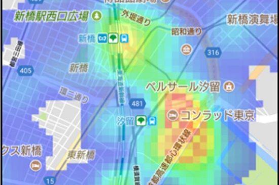 混雑マップに関連した画像-01