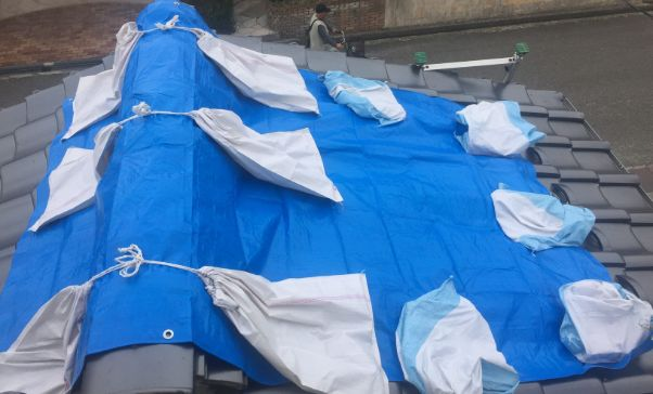 千葉 台風 停電 屋根 ブルーシート 業者 ボッタクリ 詐欺に関連した画像-04
