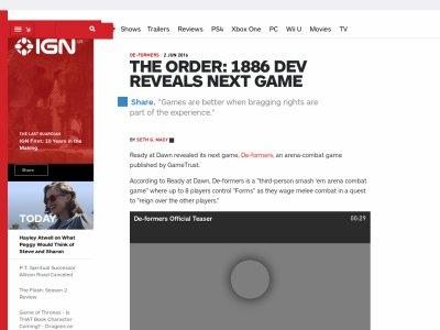 ジ・オーダー1886 PS4に関連した画像-02