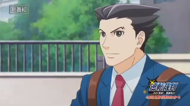 TVアニメ 逆転裁判 番宣 CM 春アニメ 梶裕貴 ナルホド君に関連した画像-03