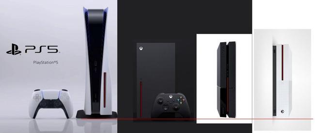 PS5 サイズ 比較 デカイに関連した画像-02