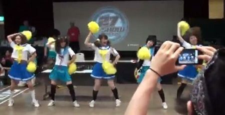 らきすた ダンス 乱入 オタク RAB 涼宮あつき ダンサーに関連した画像-01