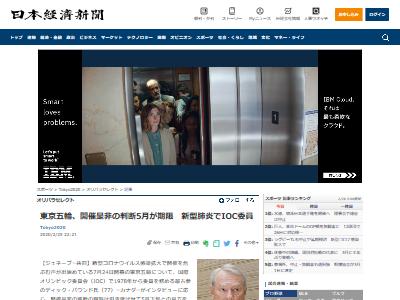 東京五輪 開催 是非 新型肺炎に関連した画像-02