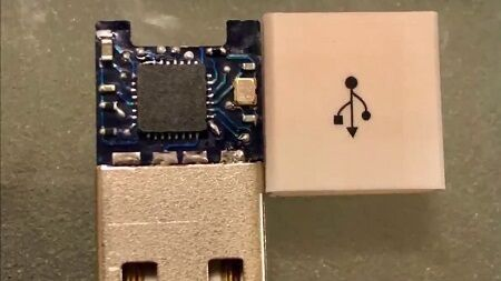 USB キーロガー ケーブル 情報漏洩 盗聴 ハッカー キーボード 入力 に関連した画像-01