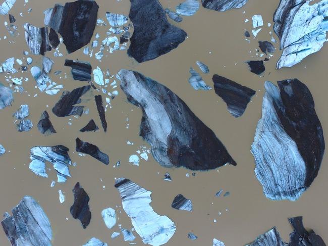 アイスランド 氷河 合成写真に関連した画像-02