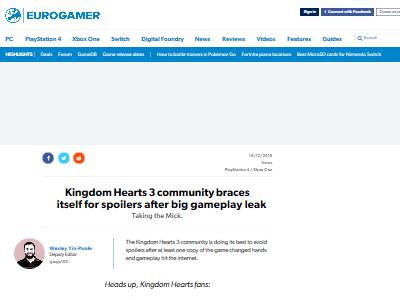 キングダムハーツ3フラゲ盗難に関連した画像-02