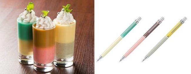 画材 メーカー ぺんてる 公式カフェ ラクガキカフェ メニュー ポスターカラー 消しゴム 修正液に関連した画像-03