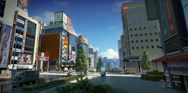 荒野行動 新MAP 東京 再現度 クオリティに関連した画像-02