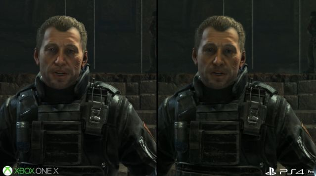 PS4Pro XboxOneX グラフィック 比較 ライズオブトゥームレイダー ハードに関連した画像-05
