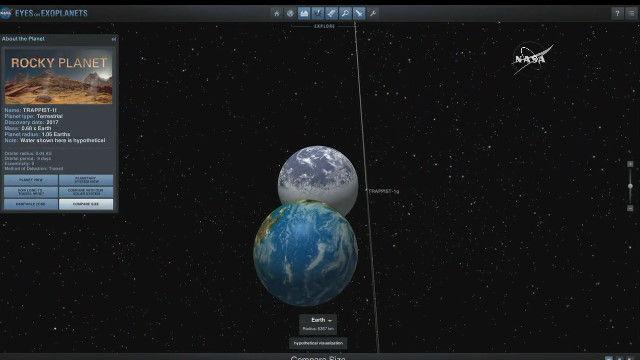 NASA 発表 地球に似た惑星に関連した画像-05