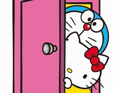 ハローキティ ドラえもん コラボ サンリオ 藤子・F・不二雄 タカシマヤ 通販 サンリオショップに関連した画像-01